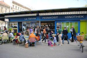 La Salvia - Yppenplatz und Brunnenmarkt