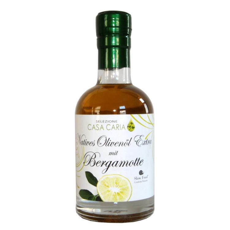 Natives Olivenöl Extra mit Bergamotte