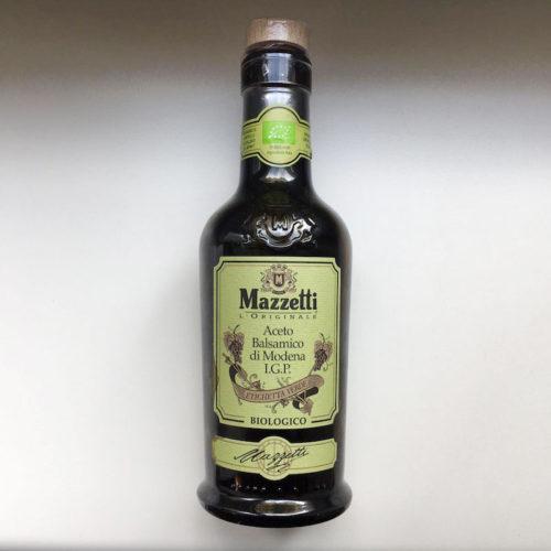 Aceto Balsamico Biologico IGT, Mazzetti