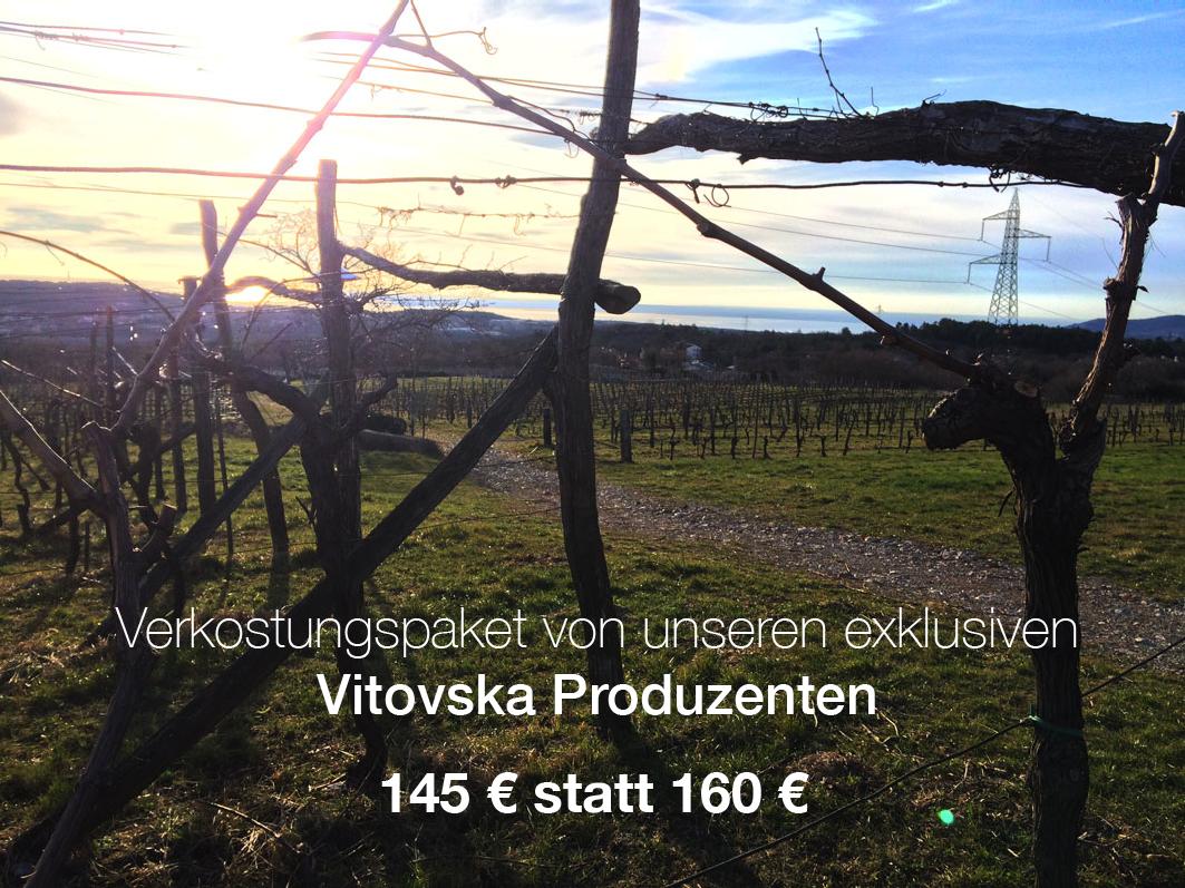 Verkostungspaket von unseren exklusiven Vitovska Produzenten